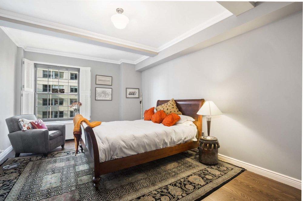 One Fifth Avenue Apt. 10D Master Bedroom