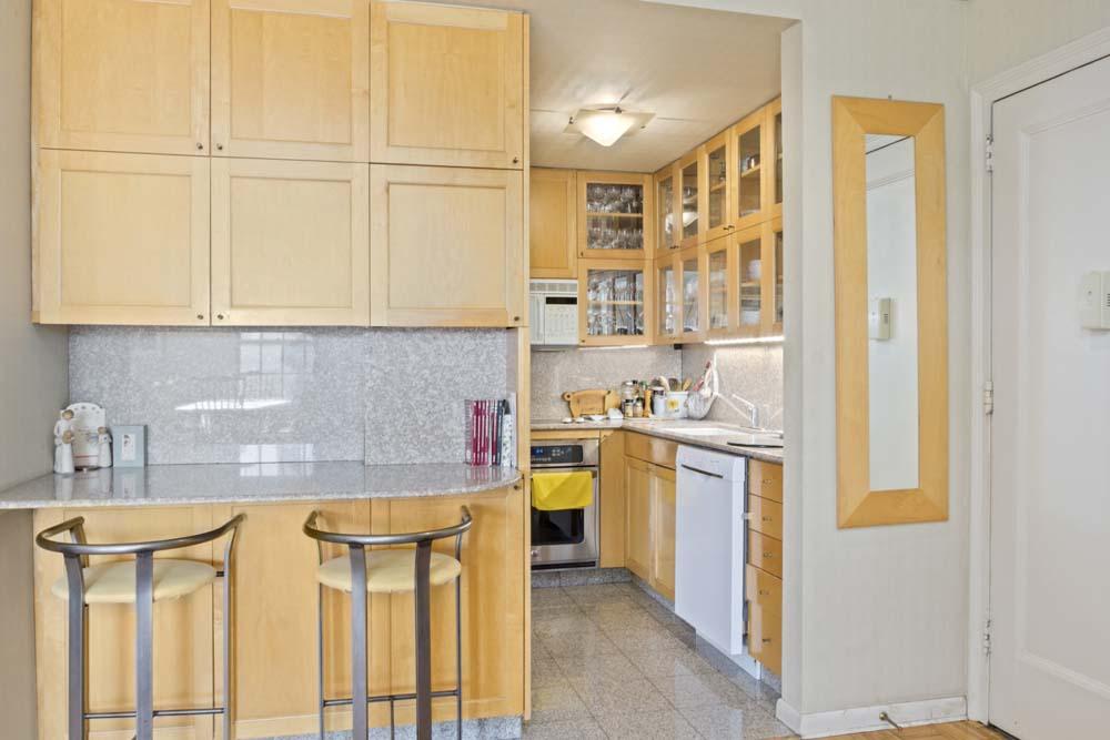One Fifth Avenue Apt. 12G Kitchen