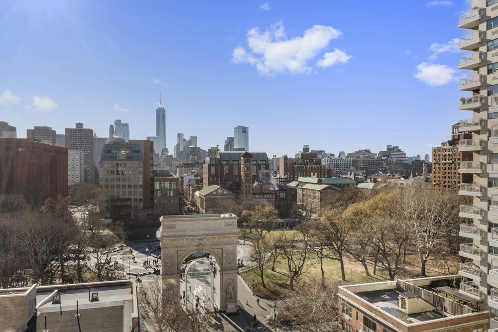 One Fifth Avenue Apt. 12G View of Washington Square Park