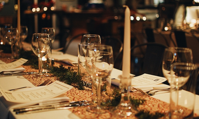 A holiday party can become something magical in the hands of the Agricole team.