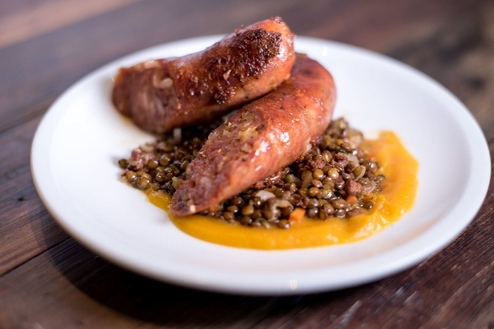Cotechino and lentils