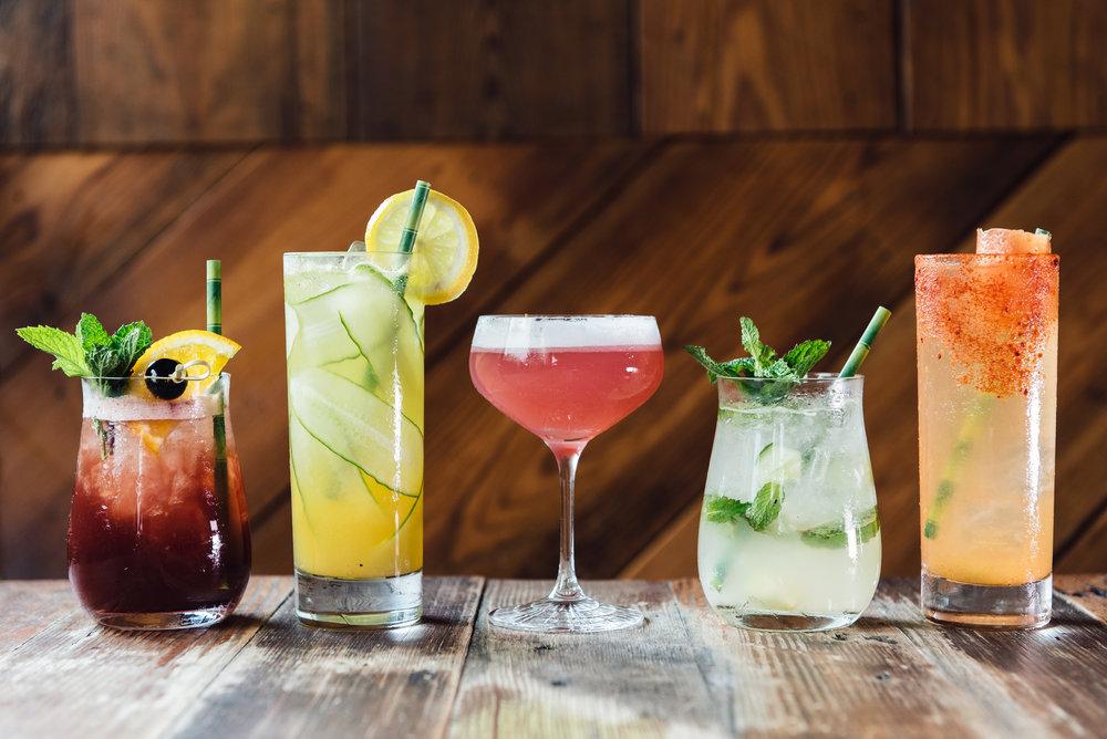 Coltivare's lineup of zero proof cocktails