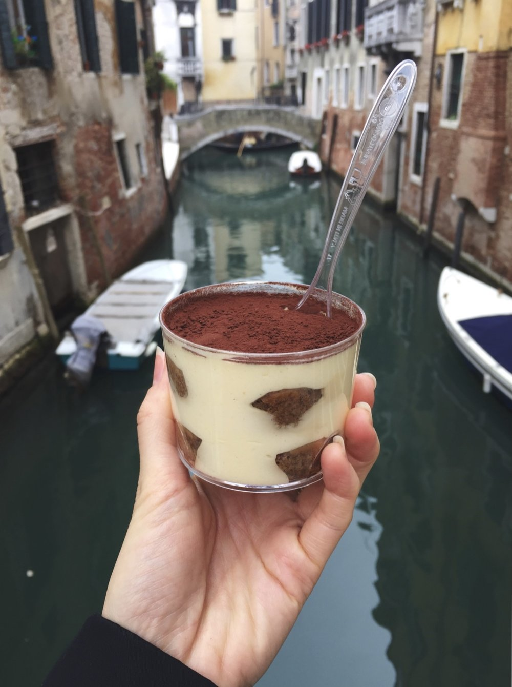 Tiramisu from I Tre Mercanti