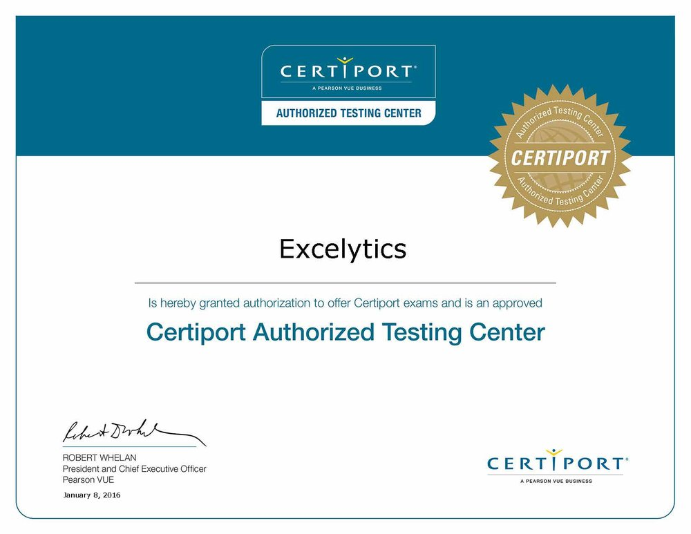 Microsoft AUTHORIZED Test Center