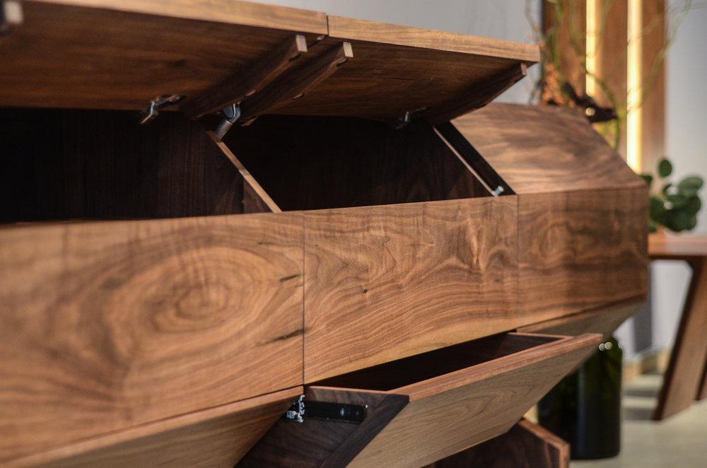 Octagon Cabinet