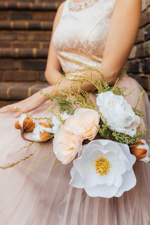 HEBE Paper Flower Wedding Bouquet — The Paper Flower Market