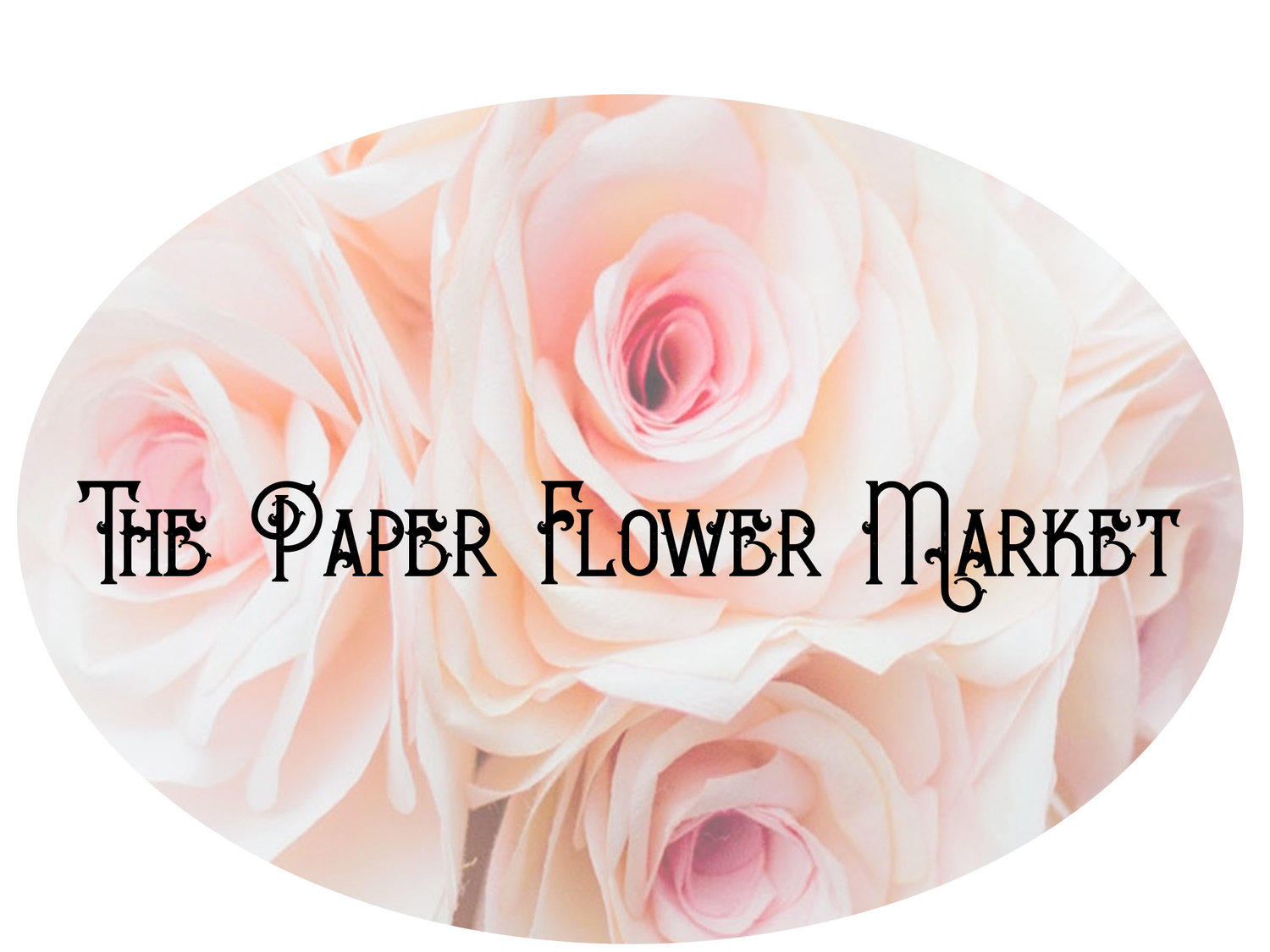 The Paper Flower Market
