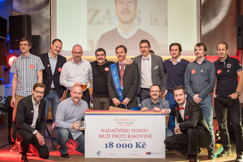 Mr. Movember Mazars 2016 - winner