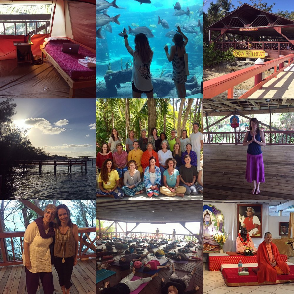 April 9th to April 24, 2017 - Sivananda Ashram Yoga Retreat - Paradise Island, Bahamas