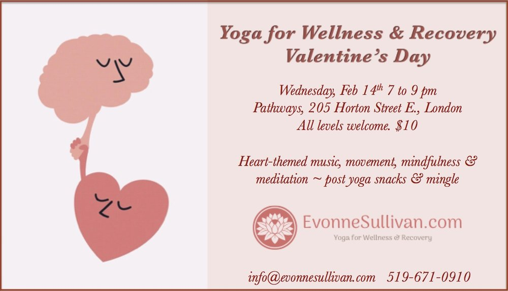 Valentine S Day Yoga For Wellness Recovery Evonne Sullivan