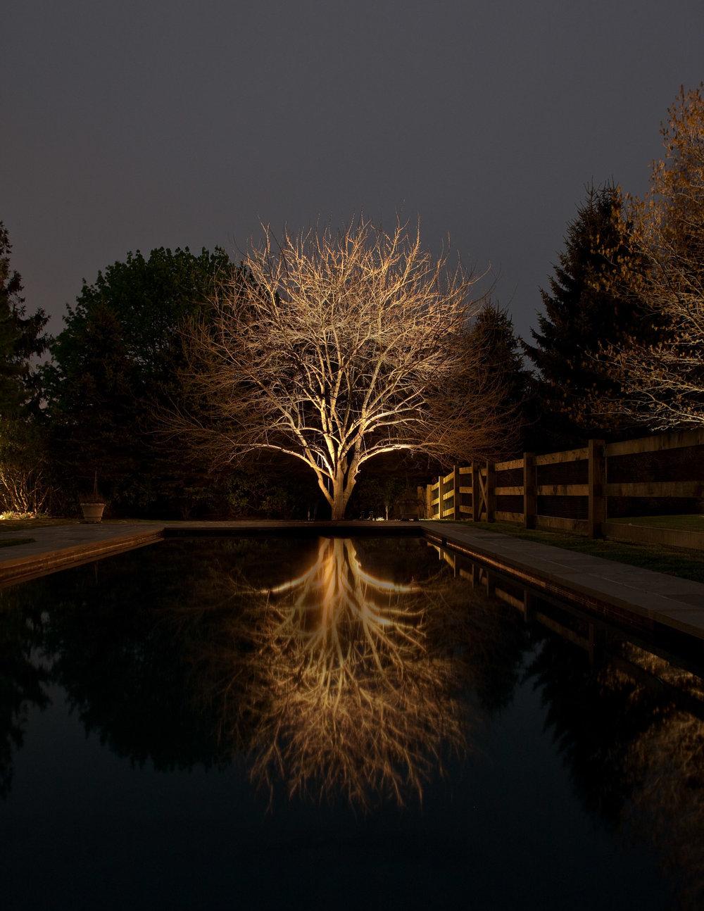 UP LIGHTING - ABOVE GRADE