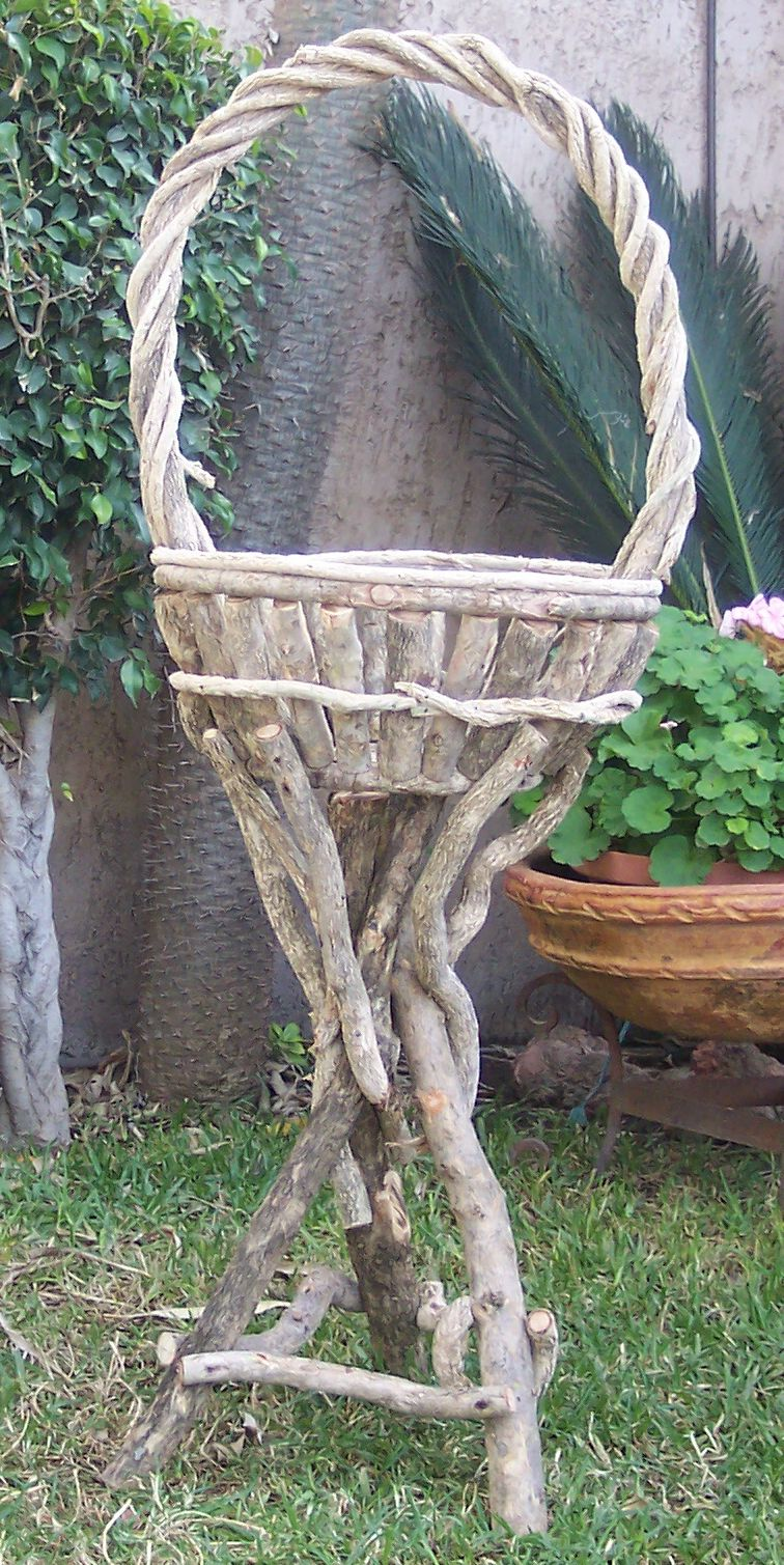 Plant Stand w/ Handle
