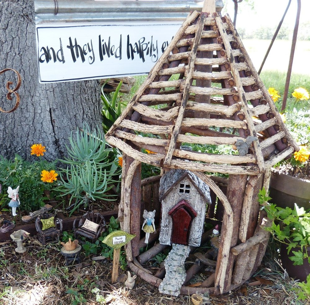 Gazebo Fairy House/Planter