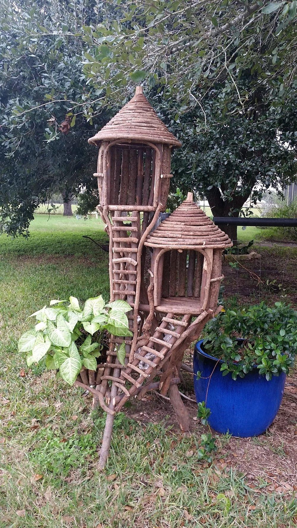 Double Swiss Birdhouse