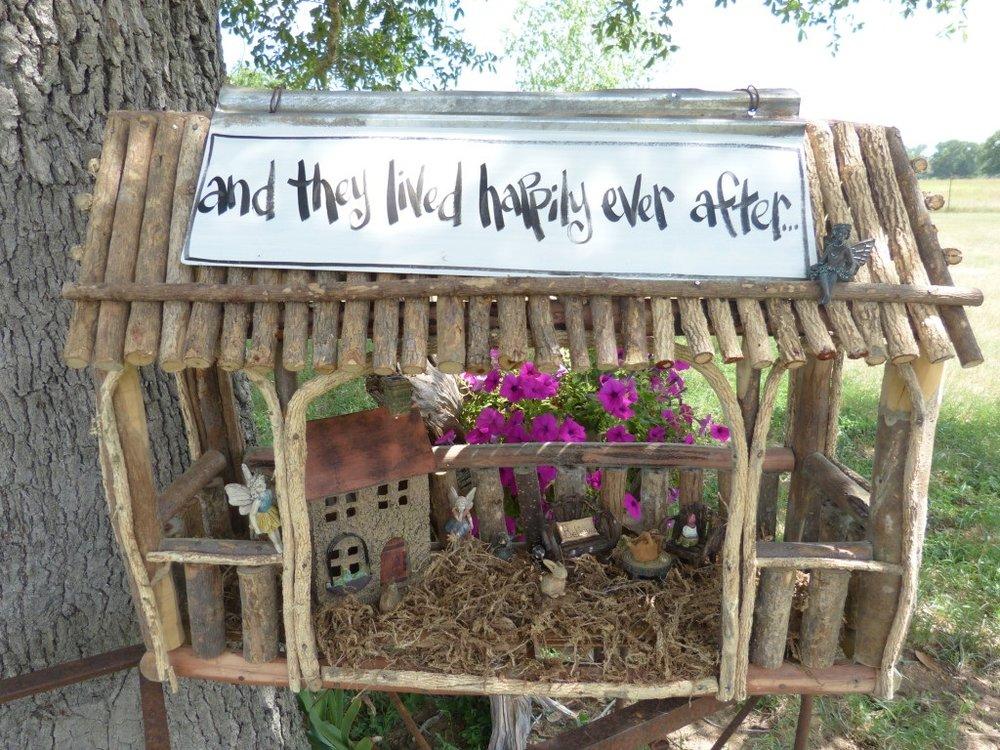 Rectangular Fairy House