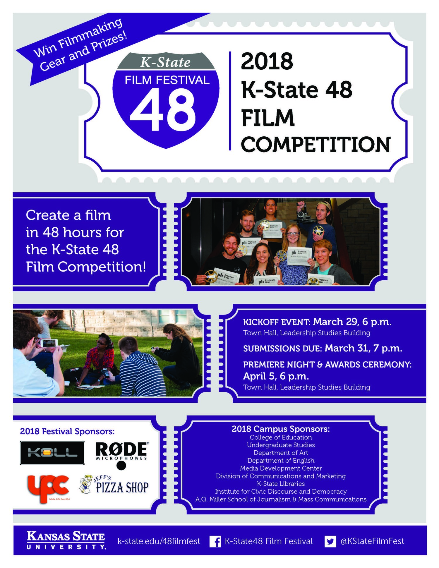 K State 48 Film Competition Kick Off