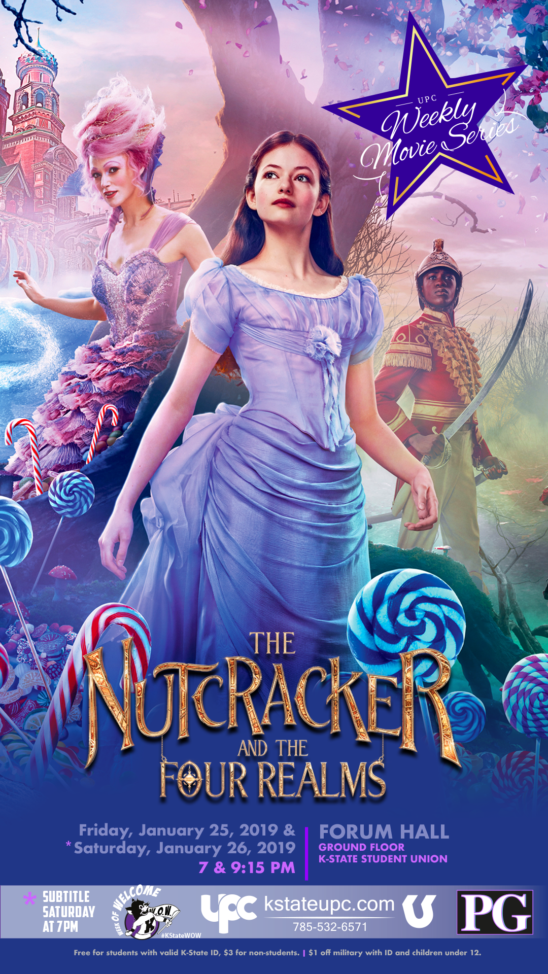 Film: The Nutcracker and the Four Realms (PG) — K-State