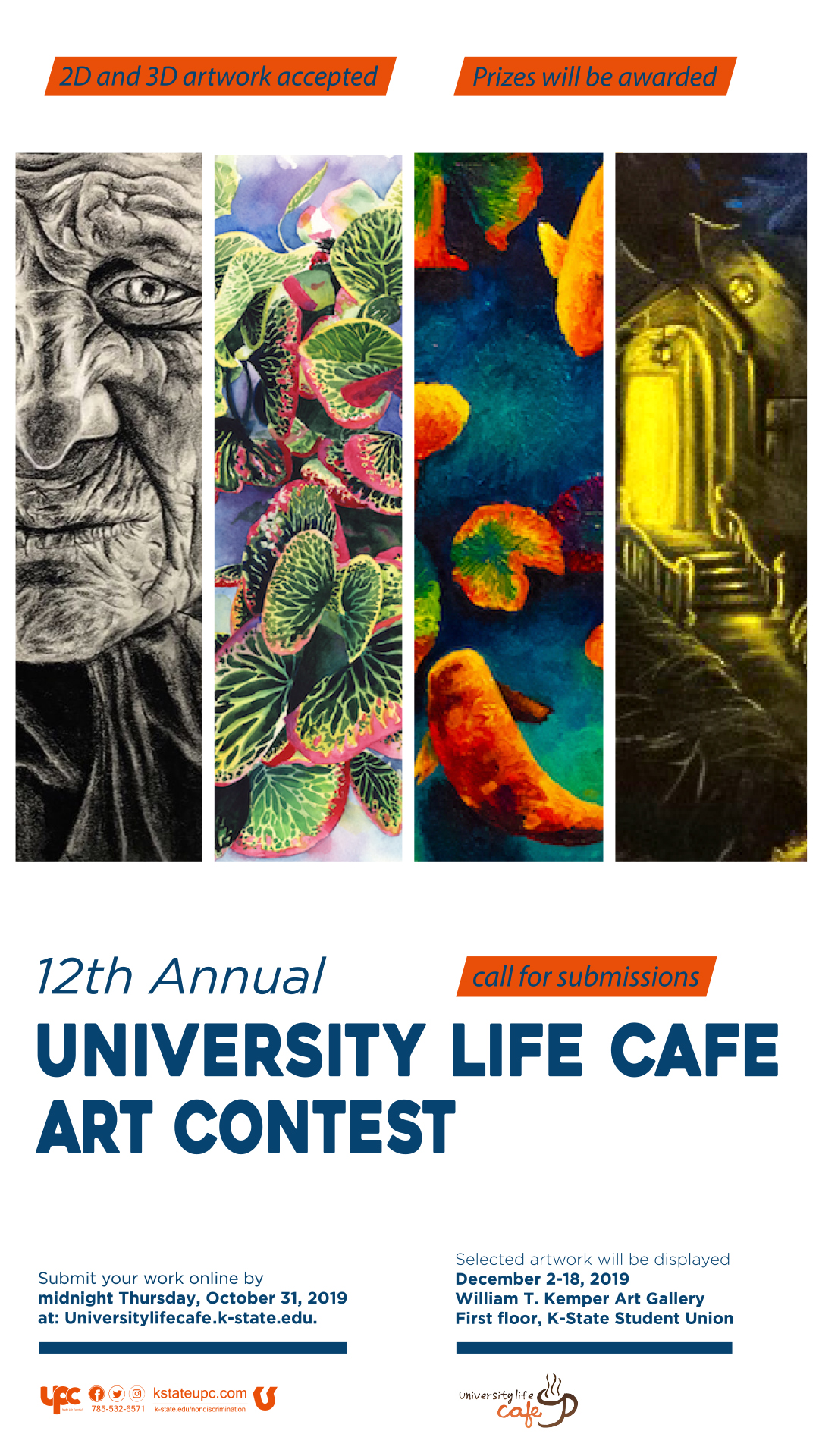 12th Annual University Life Café Call for Submissions — K-State