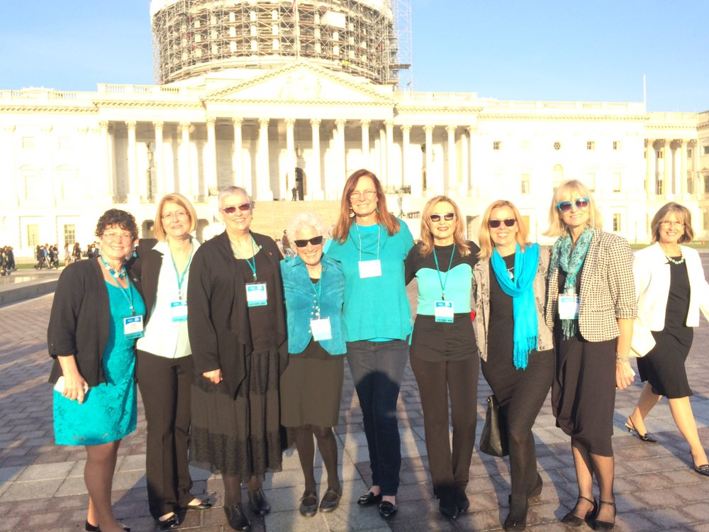 Washington DC ALA Advocacy Day March 2016 & LUNG FORCE HERO 2.JPG