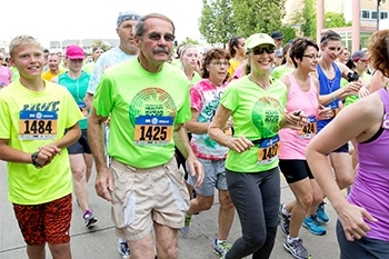 Linda and Jerry Wortman Running Lungs