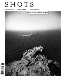 Juin 2017, couverture pour le magazine Shots.  https://shotsmag.com/