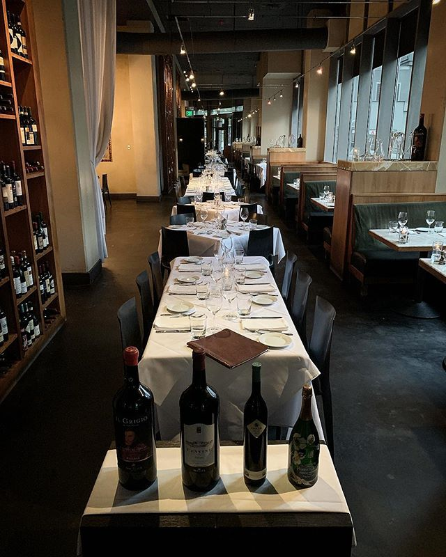 Your table is ready! #baroloseattle