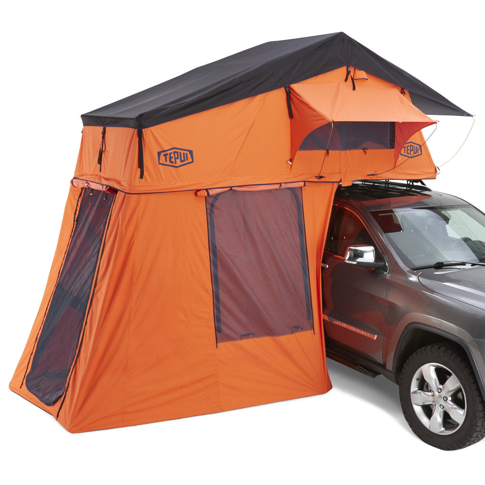 01ARG061607 Ruggedized Series Autana 3 Expedition Orange Roof Top Tent HERO 1.jpg