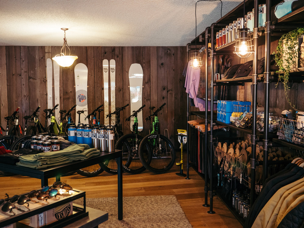 The new evo location will offer both gear rental and retail to adventure travelers -