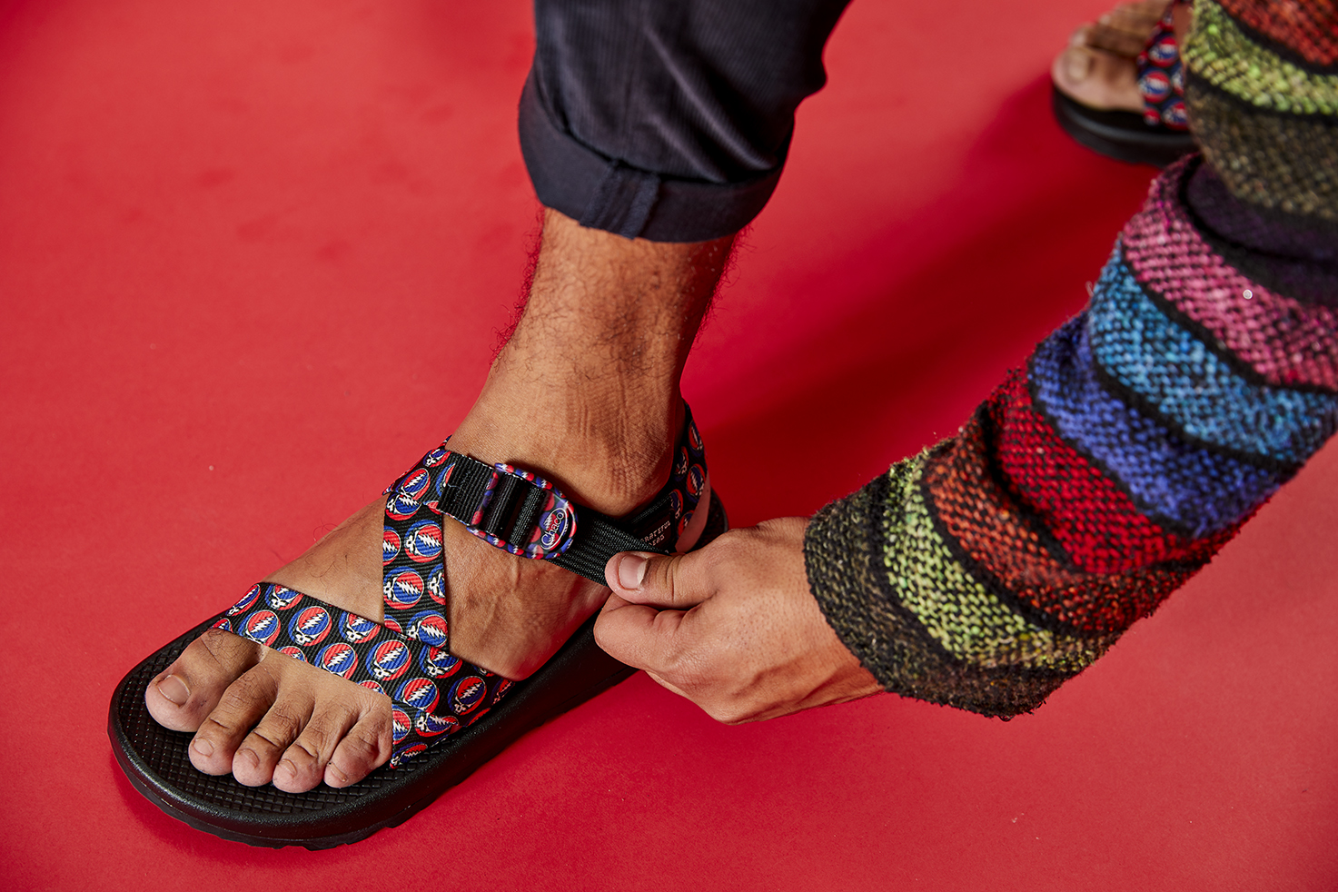 ac02343540ae Deadheads Rejoice  Chaco Introduces New Grateful Dead Sandal Collection
