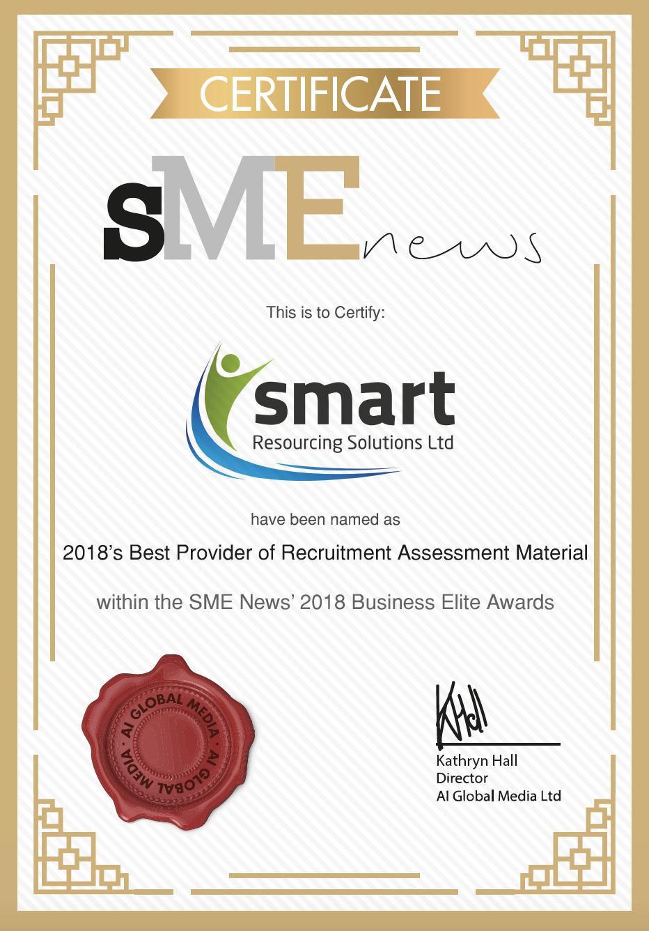 Best Provider of Recruitment Assessment Material