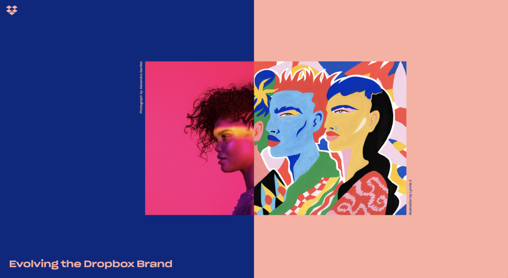 Evolving the Dropbox Brand Website