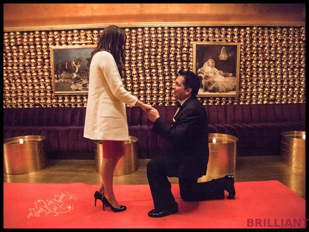 James Bond Proposal NYC