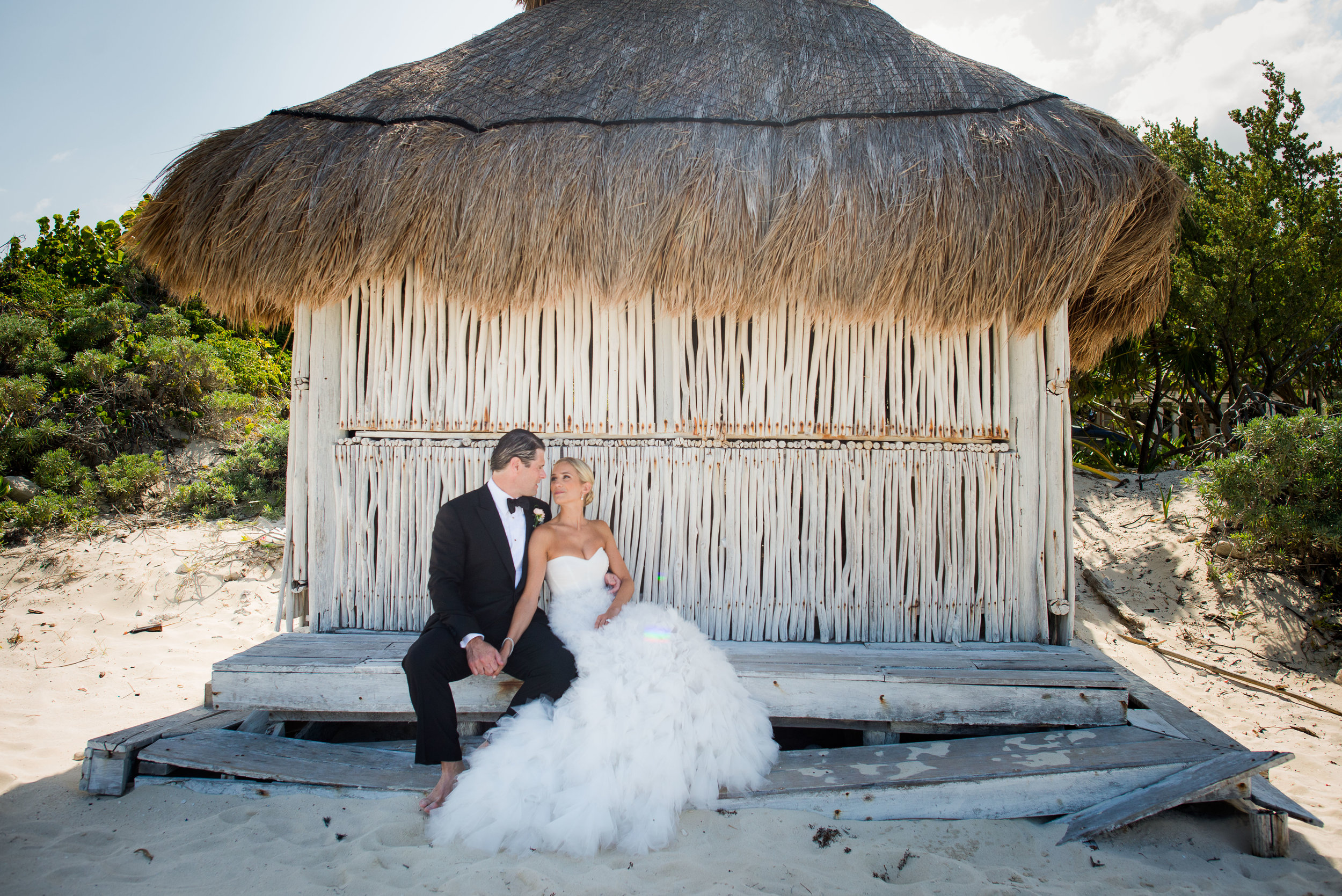 Riviera Maya Wedding, Destination Wedding, Beachfront Wedding