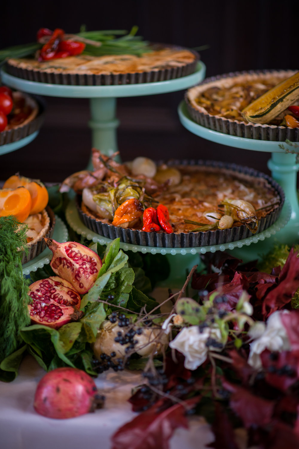 Savory Fall Tarts.  Photo by Cappy Hotchkiss.
