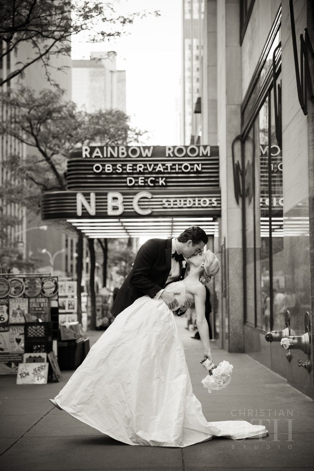 Classic Rainbow Room Wedding. Photo by Christian Oth Studio.