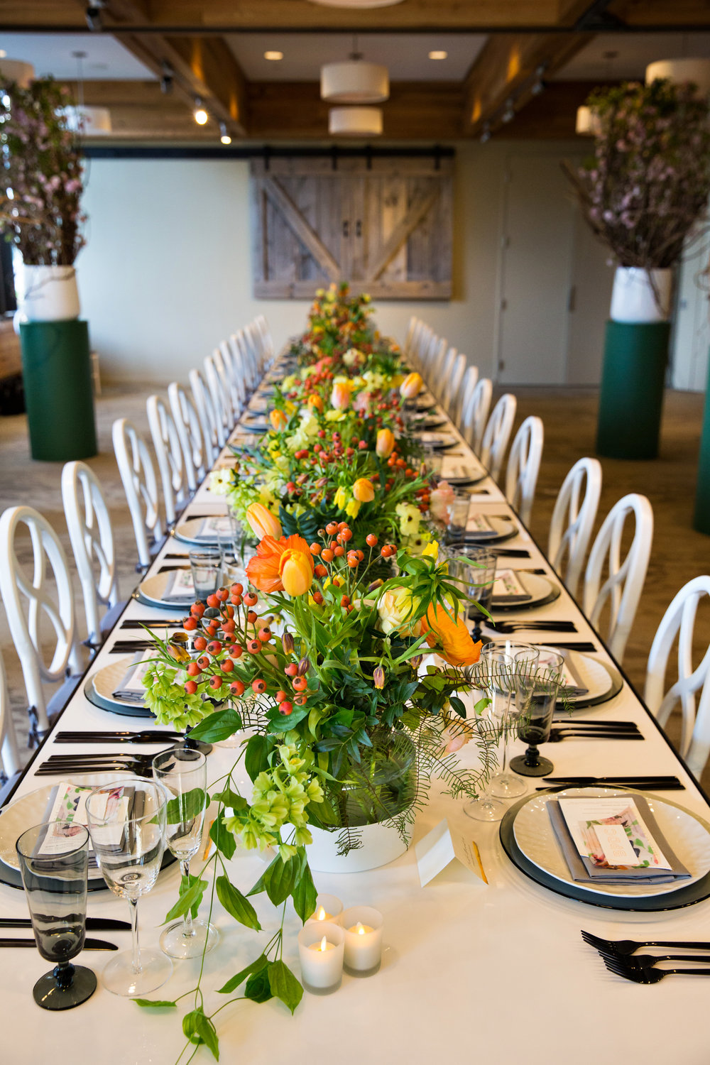 The Boston Planners Dinner Table.  Photo by Person + Killian Photography.
