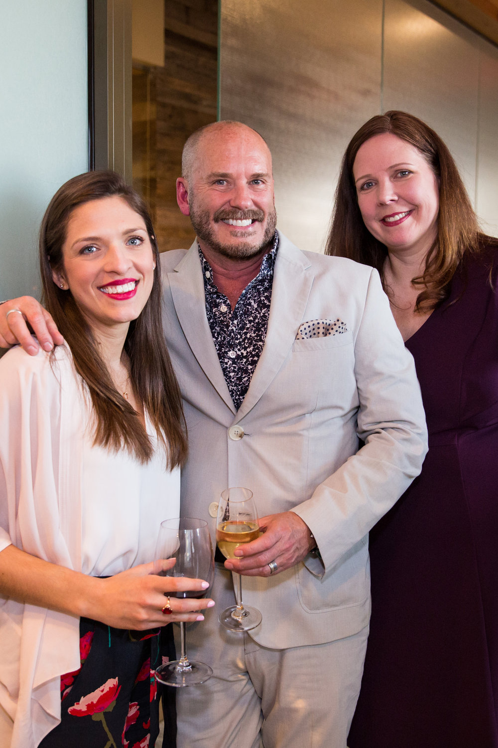 Sarah Glick, Marc Hall, and Tammy Golson.  Photo by Person + Killian Photography.