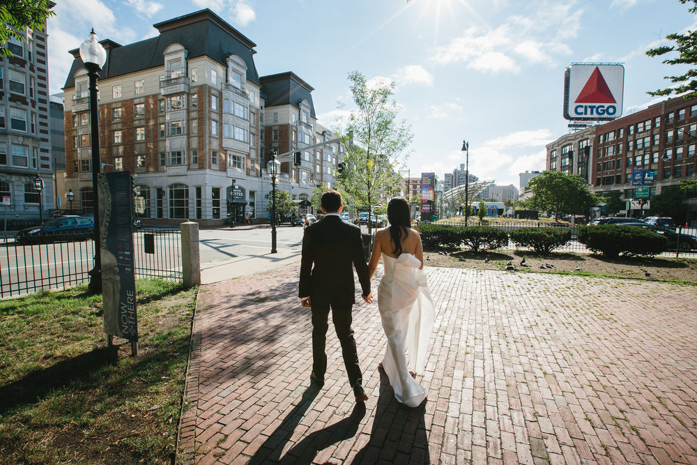 Classic Boston Wedding