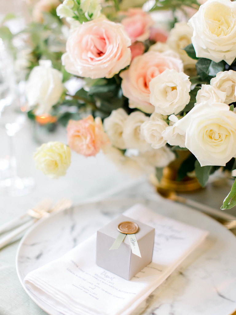 Poppies and Posies Centerpieces