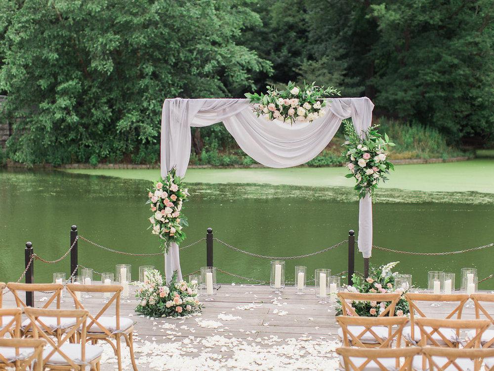 Modern Ceremony Arch