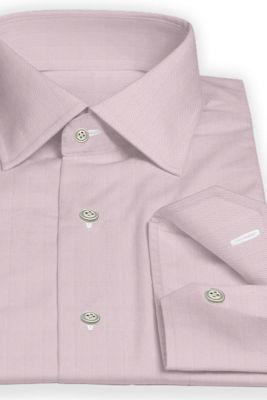 custom made Pink dress shirt