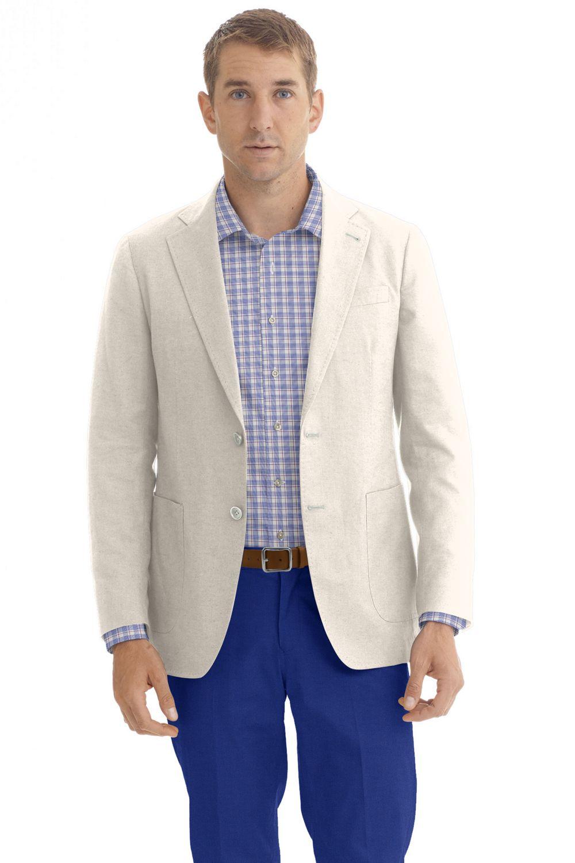 Custom made Ivory blazer