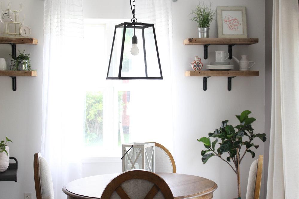 Kitchen/Dining Room:Raindrop White by Behr