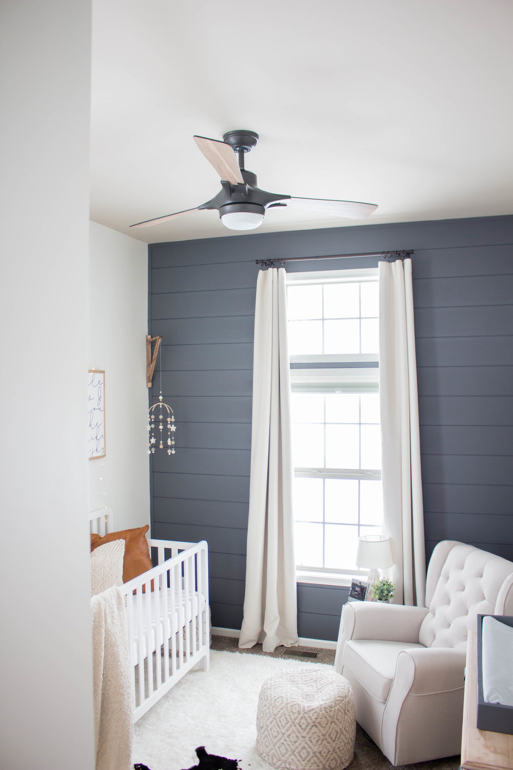 Ceiling Fan - Baby Boy Nursery