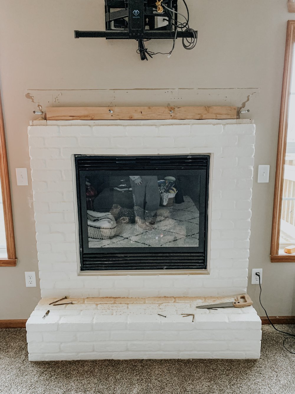 Fireplace Refresh