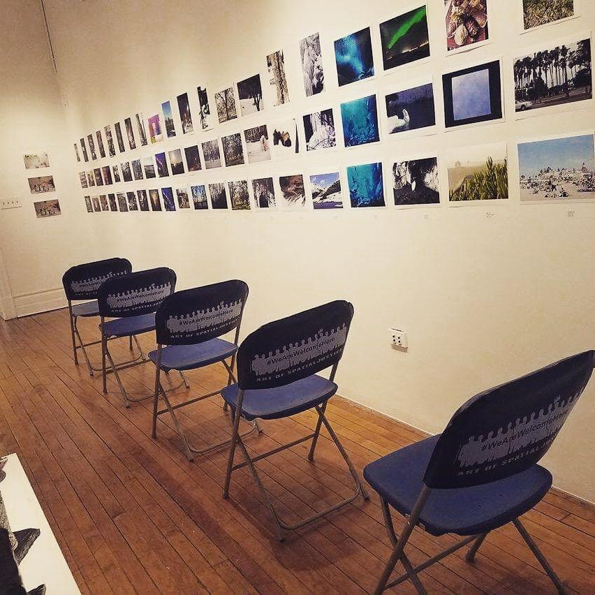 2017 BYOChair in Macy Gallery, Teachers College, Columbia University.
