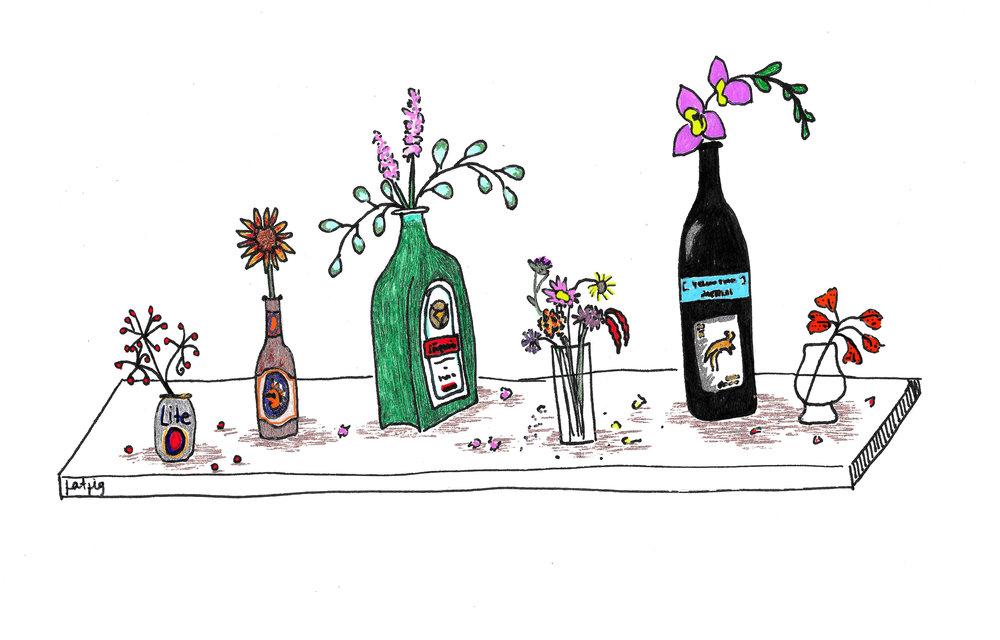 Original artwork by Larell Scardelli