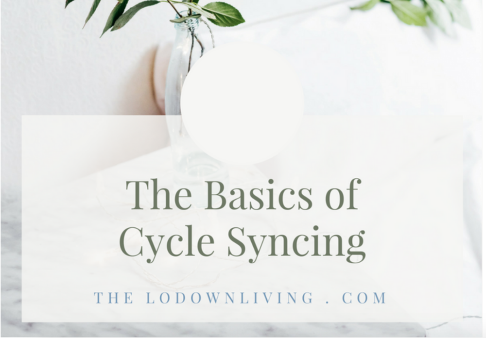 Basics of Cycle Syncing
