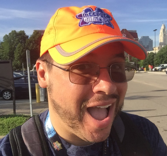 Looks like Kevin is excited to attend GenCon!