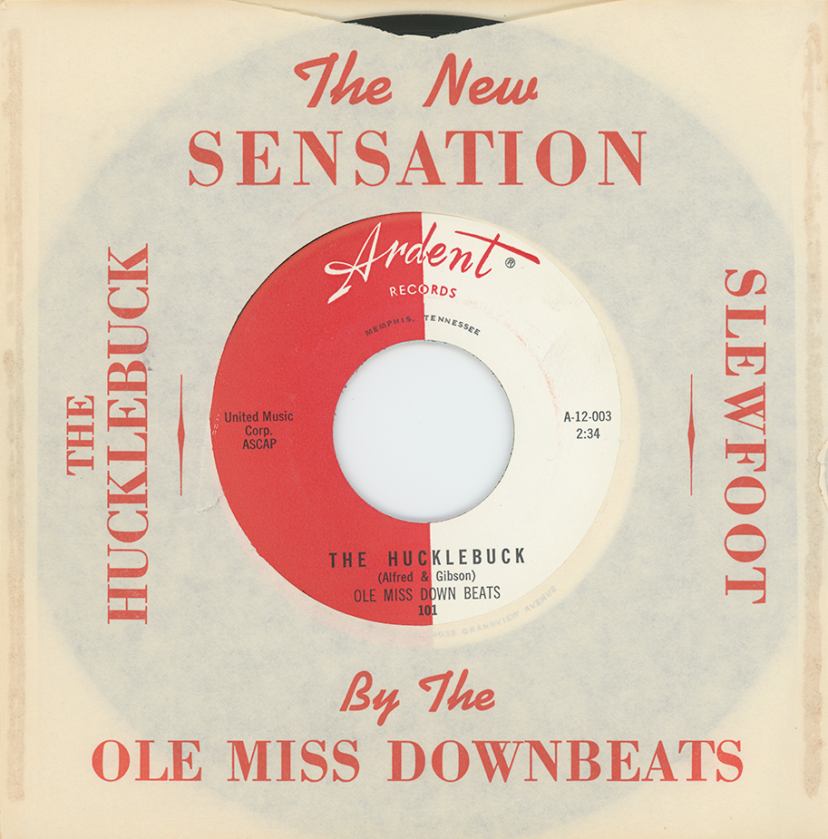 "Ardent 101 - The Ole Miss Downbeats ""The Hucklebuck"" single"